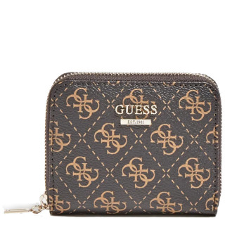 Guess Tyren Portefeuille Compact Brown BL