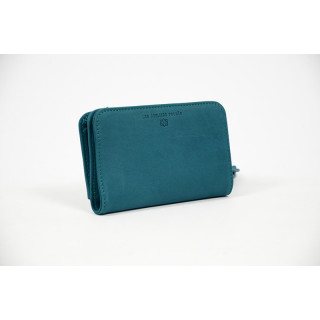 Jean Louis Fourès Baroudeuse Back to Turquoise Back Wallet
