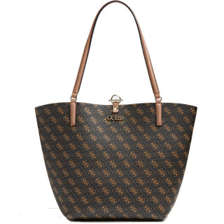 Guess Alby Sac Shopping et Pochette Reversible 2 en 1 BLH
