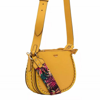 Lollipops Hope Yellow-Golden Shoulder Bag