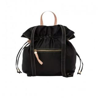 Lollipops Healthy Backpack In Black-Golden Canvas