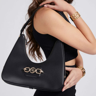 Guess Hensely Sac Hobo Black
