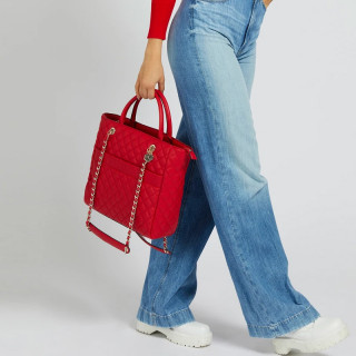 Guess Illy Sac A Main Capitonné Red