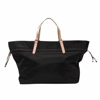 Lollipops Healthy Travel Bag In Black-Golden Web