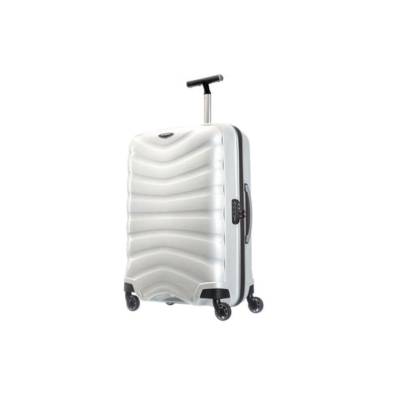 Samsonite Farelite Spinner 69 cm Valise Trolley 4 Roues -Off white
