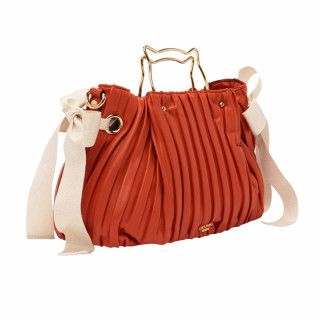 Lollipops H-Giulia Sac Cabas Chat Orange-Doré