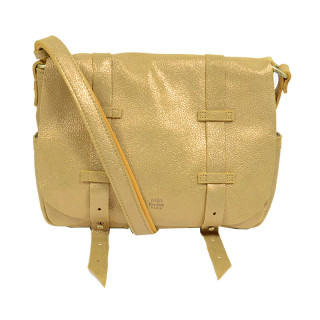 Mila Louise Bess New Glitter Sac Porté Travers Mustard