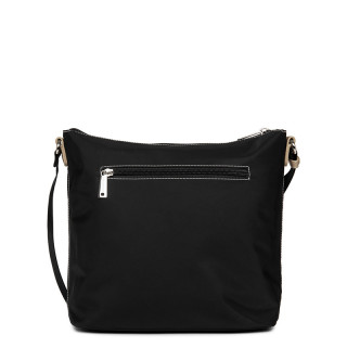 Lancaster Basic Pompon Crossbody Bag 514-90 Black GC