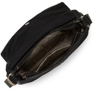Lancaster Basic Pompon Shoulder Bag 514-91 Black GC