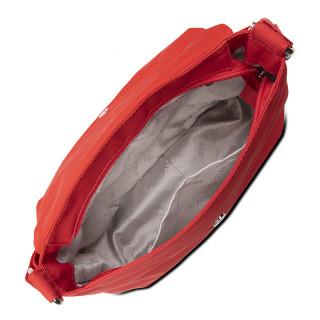 Lancaster Basic Pompon Shoulder Bag 514-91 Coral