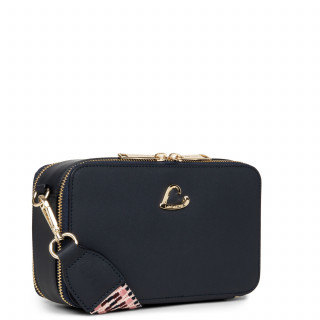 Lancaster City Crossbody Bag Zippé 523-70 Dark Blue
