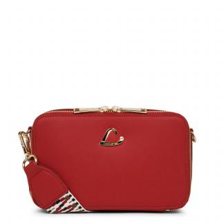 Lancaster City Crossbody Bag Zippé 523-70 Red