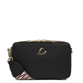 Lancaster City Crossbody Bag Zippé 523-70 Black