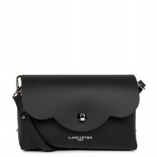 Lancaster City Crossbody Bag 423-48 Black In Champagne