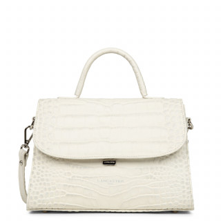 Lancaster Exotic Croco Grand Sac à Main 426-85 Beige