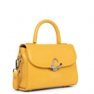 Lancaster Lucertola Mini Leather Handbag 433-01 Yellow
