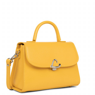 Lancaster Lucertola Grand Leather Handbag 433-02 Yellow