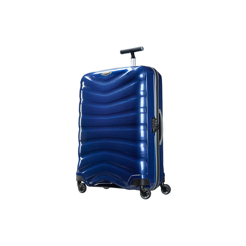 Samsonite Farelite Spinner 75 cm Valise Trolley 4 Roues -Deep blue