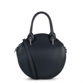 Lancaster Vendôme Moon Bag A Hand Round 432-12 Dark Blue