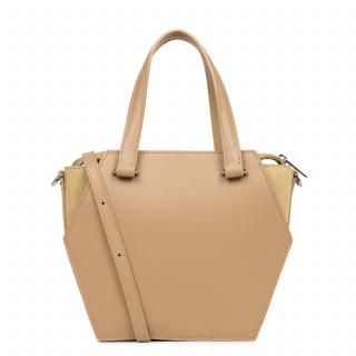 Lancaster Vendôme Hive Bag Cabas Worn Hand 432-52 Natural
