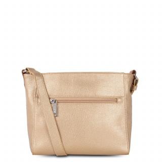 Lancaster Maya Crossbody Bag 517-24 Gold Mat-Naturel and Camel