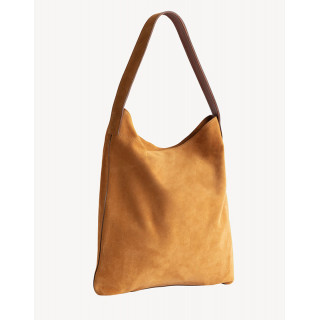 Gérard Darel Lady Sac Hobo Folk Cuoio