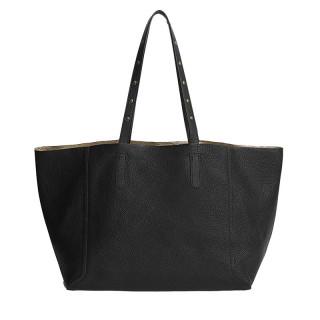 Gérard Darel Simple 2 Black-Gold Cabas Bag
