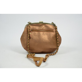 Mila Louise Poe Reb Camel Shoulder Bag