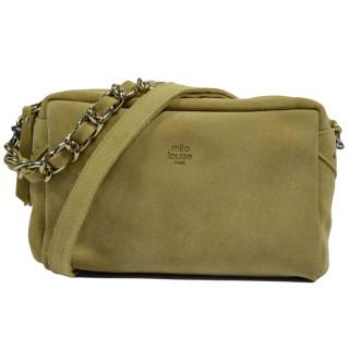 Mila Louise Mama Croute Crossbody Bag Sand