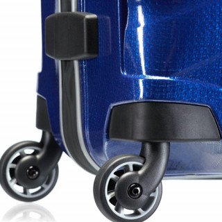 Samsonite Farelite Spinner 75 cm Valise Trolley 4 Roues -Deep blue roulettes
