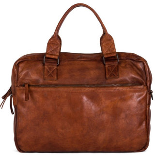 Gianni Conti Porte Documents 2 Leather Breaths Delphi Cognac