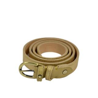 Mila Louise Pallas X Sand Leather Belt
