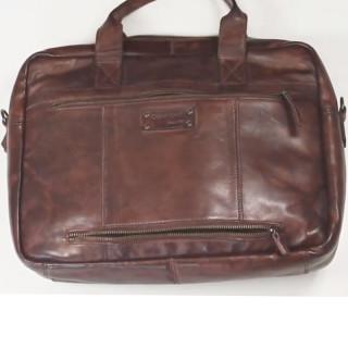 Gianni Conti Porte Documents 1 Soufflet Leather Cognac