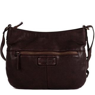 Gianni Conti Messenger Bag Leather Brown