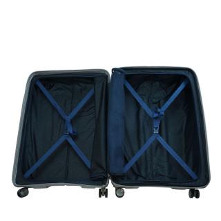 Jump Sondo Suitecase 76cm 4 Champagne Extendable Wheels