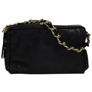 Mila Louise Mama X black leather Crossbody Bag