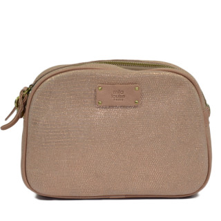 Mila Louise Ray L Nude Shoulder Bag
