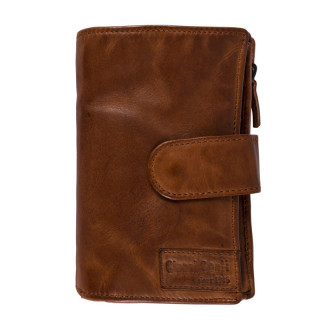 Gianni Conti Wallet Leather Cognac