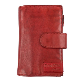 Gianni Conti Portefeuille Cuir Rosso