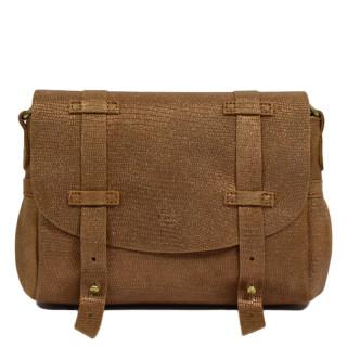 Mila Louise Mahe New L Camel Handbag