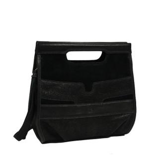 Mila Louise Raf Black Shoulder Bag