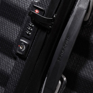 Samsonite Lite-Shock Spinner 55cm Valise Cabine Trolley 4 roues Black cadenas