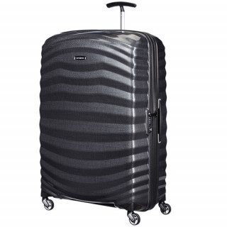 Samsonite Lite-Shock Spinner 81cm Valise Trolley 4 roues Black