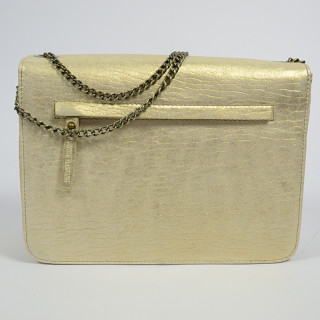 Virginie Darling Bag Chacha Bubble Python Gold