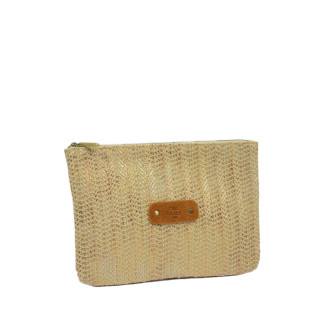 Mila Louise Poch Wheat 3 GM Camel Pocket